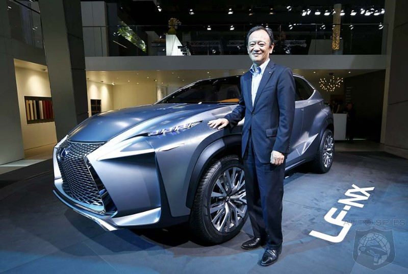 Toyota Design Chief To Take Over Lexus