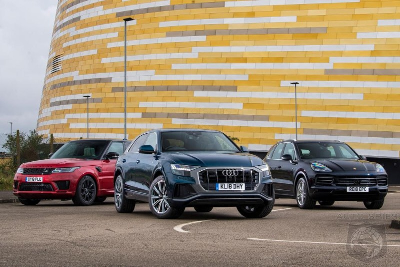 Battle Of The Big Boys Audi Q8 Vs Porsche Cayenne Vs