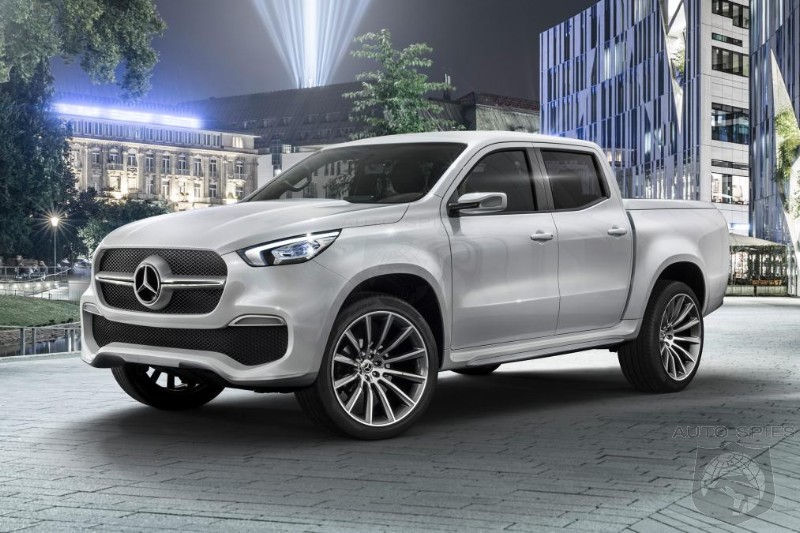 Mercedes Gives Birth To The World s First PREMIUM Pickup If THIS Comes Stateside Who Should Worry