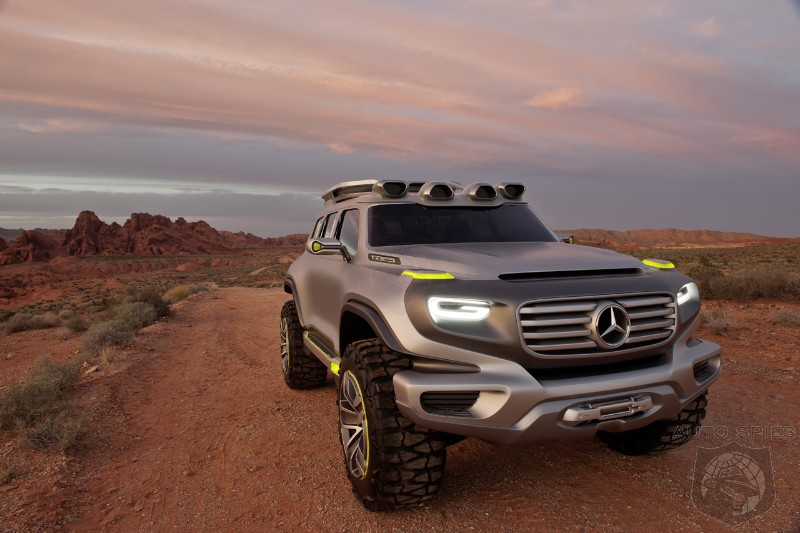 LA AUTO SHOW: Mercedes-Benz Ener-G-Force Concept - Should It Be The New Look For The G-Class?