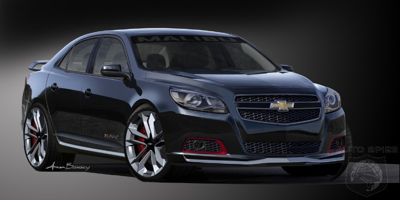 2012 SEMA SHOW: Chevrolet Uleashes A Custom Mini Car Bonanza For SEMA
