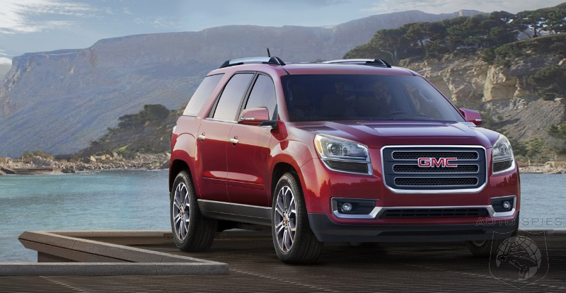 GMC Brings In 2013 Acadia SUV At $34,875