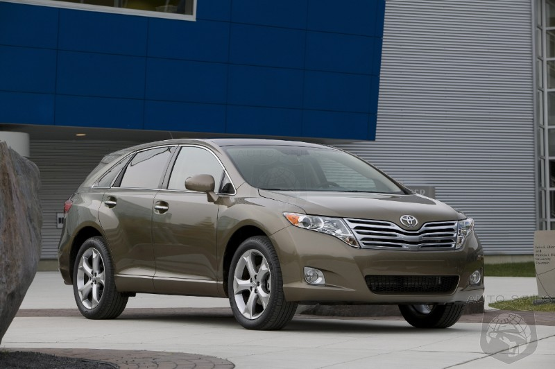 Toyota Tries To Kickstart Venza Sales For Third Time