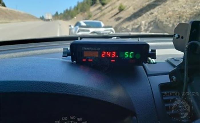 OH CANADA! Police IMPOUND C7 Corvette Clocked At 151 MPH.  But At Least The Driver Has Free Healthcare!