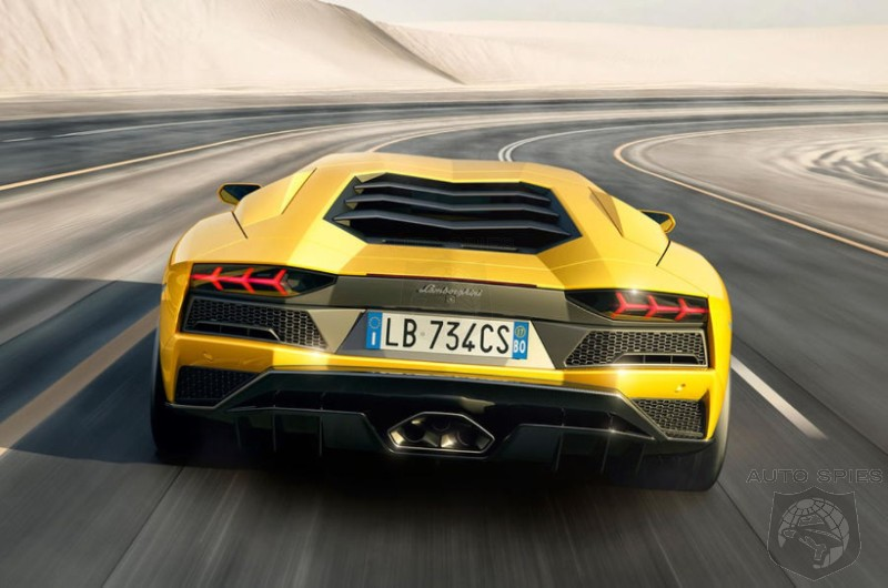 Lamborghini Chief Engineer Says That RWD Aventador You Wanted Isn't Happening
