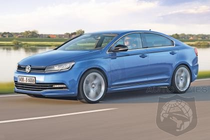 Volkswagen Readies 2015 Golf CC To Take On New Mercedes-Benz CLA