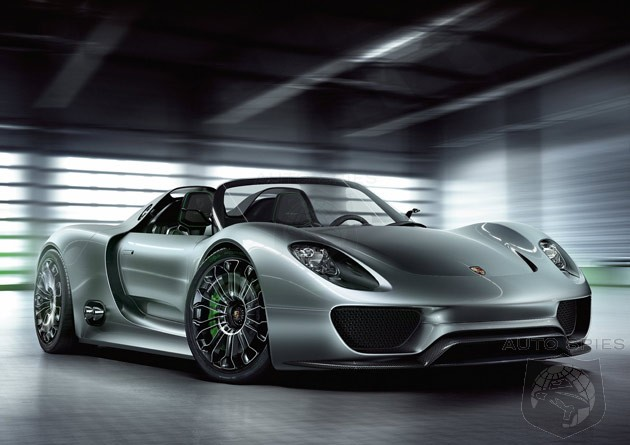 Porsche To Offer Plug In Hybrid Version Of Panamera And 918 Spyder Next Year