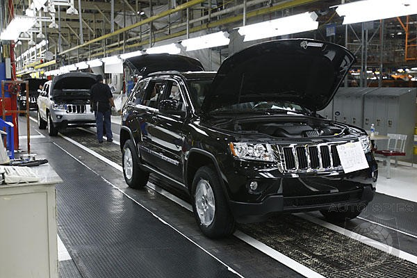 Chrysler To Keep 4 Plants Open Over Summer Break To Meet Demand