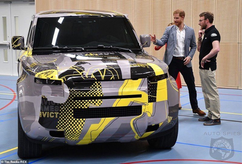 Royal Family Ride? Prince Harry Gets A Preview Of The Long-Awaited Next Gen Defender