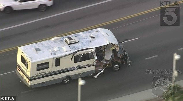 Are Car Chases Going To The Dogs? Woman Steals An RV and Police Engage In A Wild Chase
