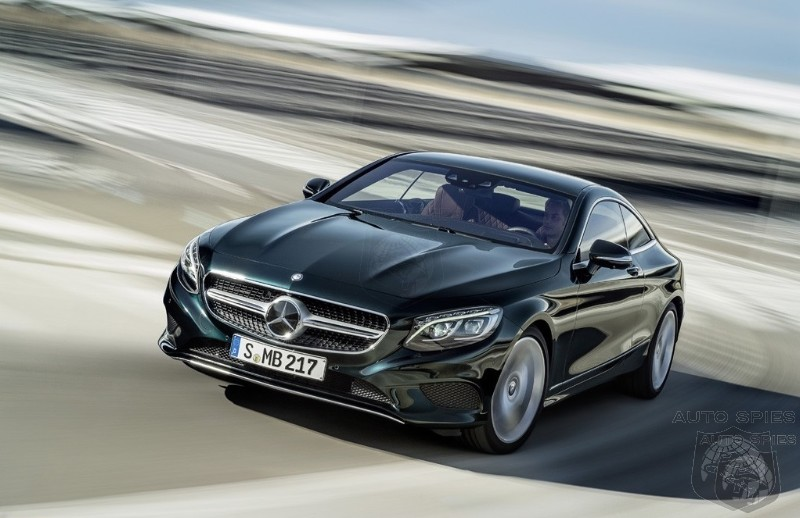 STUD OR DUD?  2015 Mercedes-Benz S-Class Coupe Becomes Official