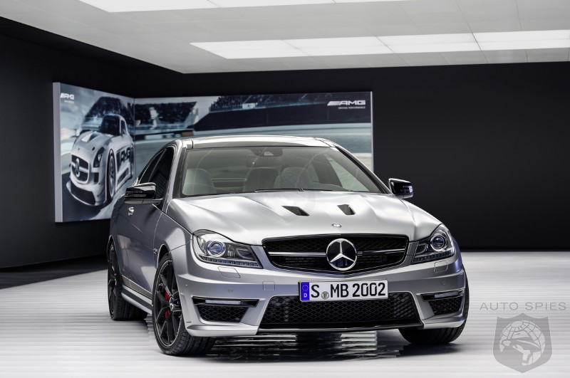 Mercedes-Benz Goes Aggressive With 2014 C63 AMG Edition 507