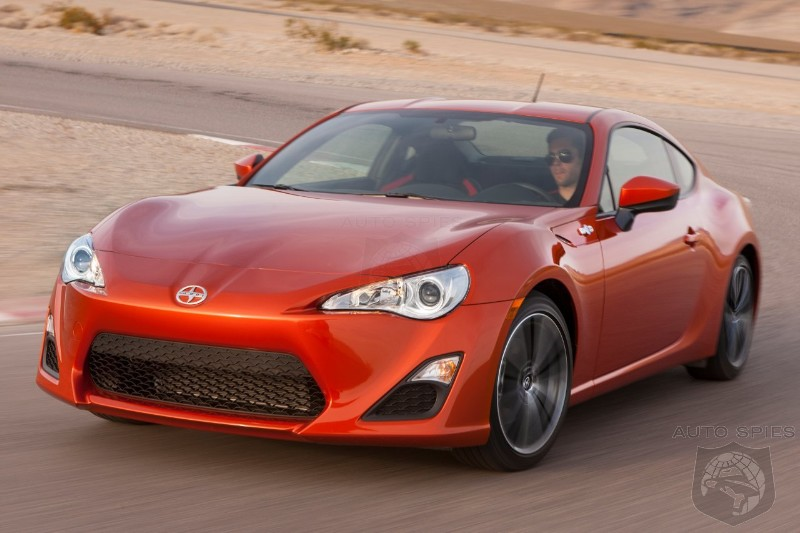 Scion FR-S Sales Disappoint Toyota - Can A Boring Brand Successfully Sell A Sporty Car?
