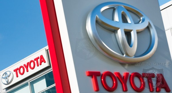 Toyota Wraps Up Worst Year In Its History With A Quarterly Profit