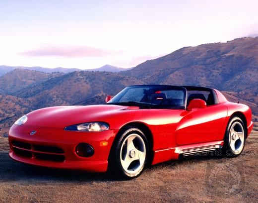 Chrysler Insists 93 Vipers Dontated To School Auto Shop Programs Be Destroyed