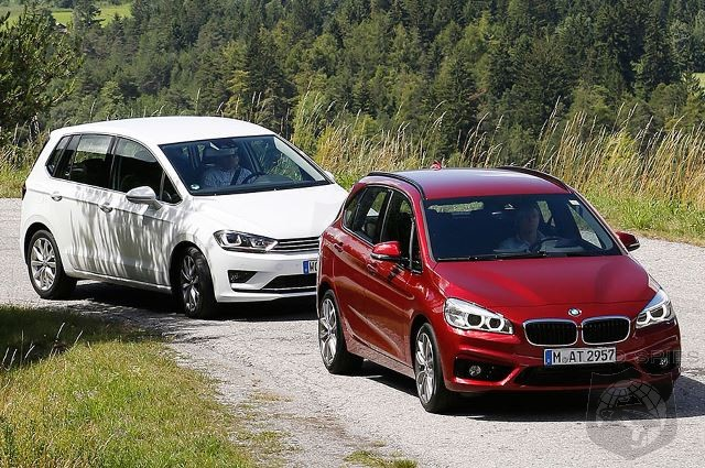 Premium Isn't Always Better: BMW 2-Series Active Tourer vs Volkswagen Golf Sport Van