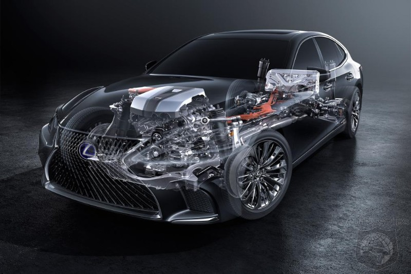 Next Gen LS 500h To Come With Multi Stage Hybrid System