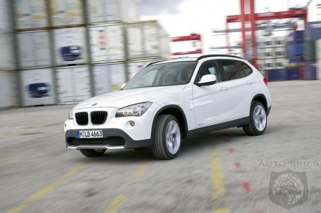 STUD or DUD?  BMW's X1 Finally Breaks Cover
