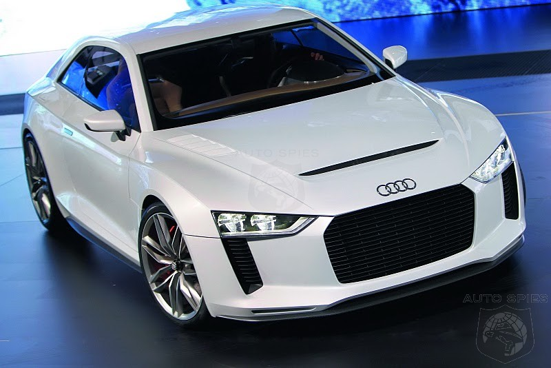 Audi To Debut Production Version Of 650hp Quattro Concept At