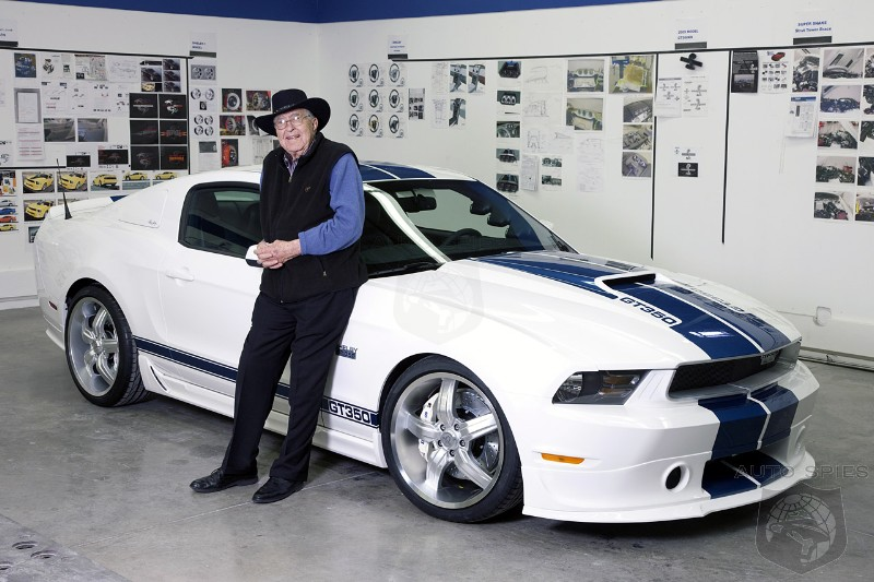 Pioneer Carroll Shelby Passes Away At Age 89