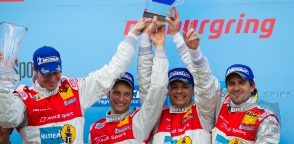 Audi R8 Takes 1-2 Podium Finish In 2012 Nurburgring 24 Hours