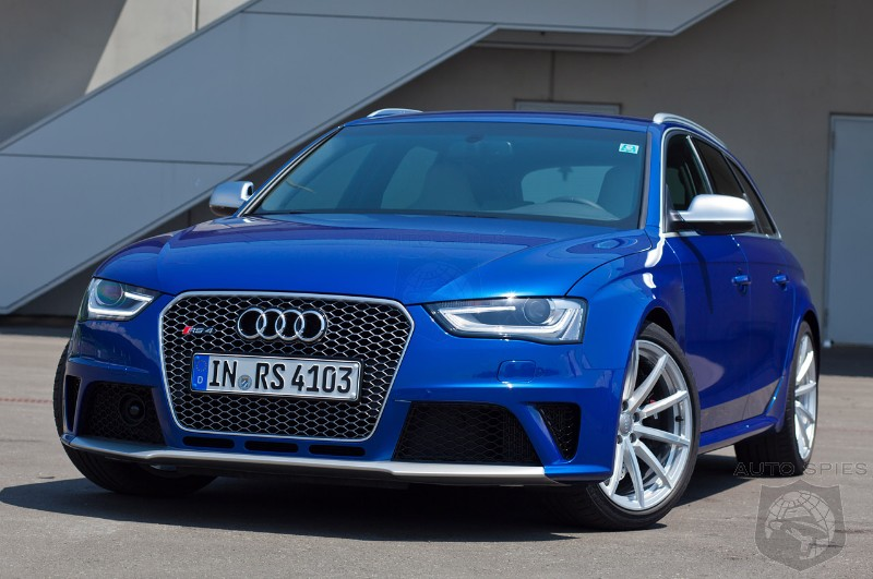 New Audi RS4 To Feature 430 HP Twin Turbo V6 - Should They Bring To ...