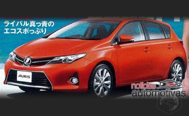 STUD OR DUD? 2013 Toyota Corolla Brochure Shots Leak Out