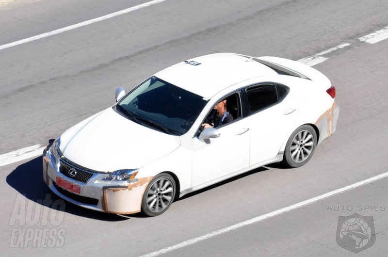 Next Gen Lexus IS Caught During Testing