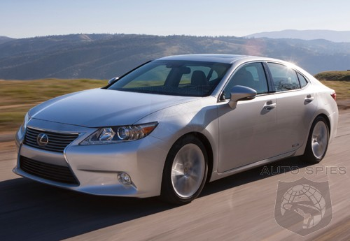 Lexus Moving ES Production To North America?