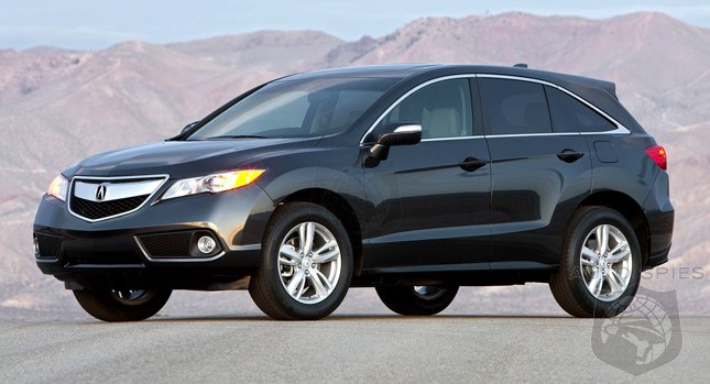 Is Acura Aiming At A Lexus By Refocusing New RDX To The Over 50 Crowd?