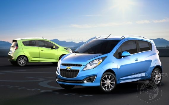 Chevrolet's Spark Sales Catch Fire In August