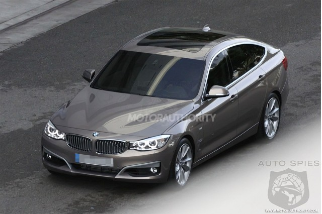 Stud Or Dud? BMW's 2013 3-Series Gran Turismo Caught In The Buff!