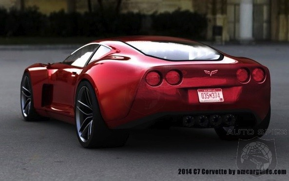 If The 2014 C7 Corvette Looked Like THIS, Would It Finally Be Able To Steal The Thunder From The Italians?