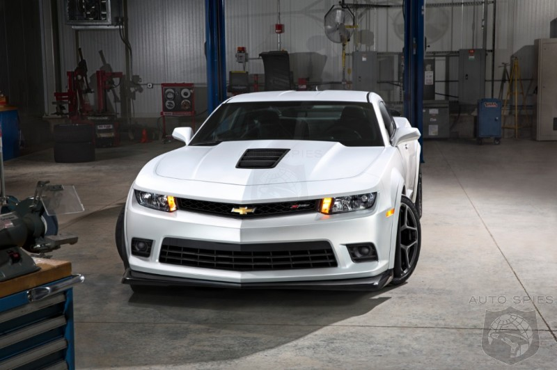 NEW YORK AUTO SHOW:  Chevrolet Reintroduces The 500HP Camaro Z28 For 2014