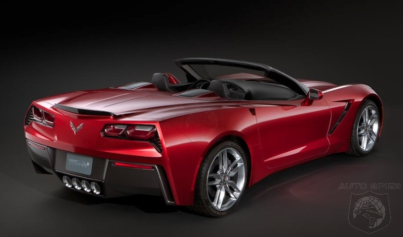 STUD OR DUD? 2014 Chevrolet Corvette Stingray Convertible To Debut In Geneva