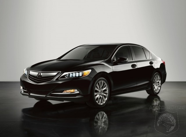 DEAD ON ARRIVAL? CR Magazine Claims Acura's New RLX Is Outclassed On Almost Every Level