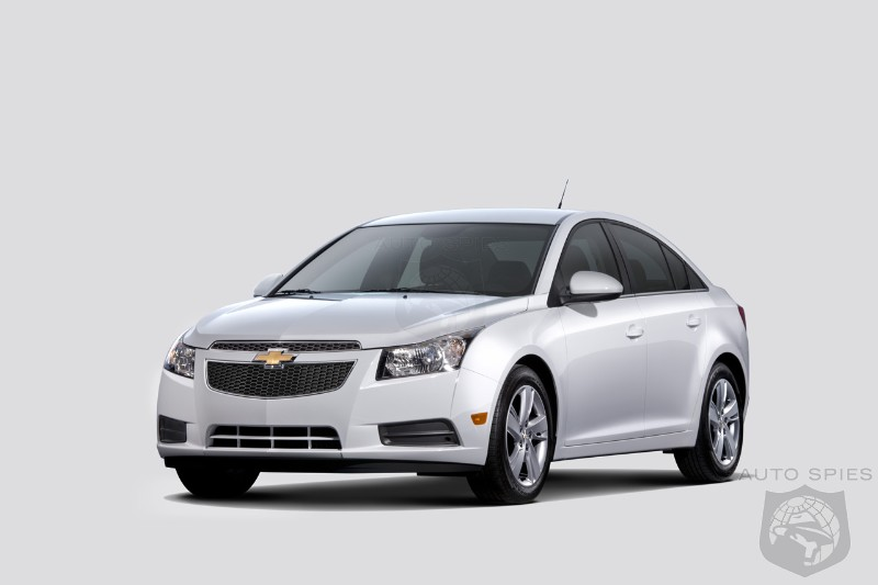 CHICAGO AUTO SHOW: 42 MPG 2014 Chevrolet Cruze Turbo Diesel Debuts At $25.695