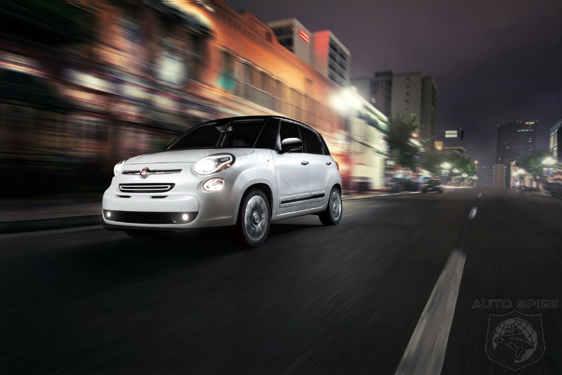 LA AUTO SHOW: Fiat Continues To Pressure Mini By Introducing The 2014 500L 4 Door