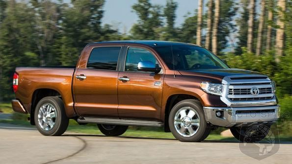 Toyota Says Updated Competitors Shouldn't Dent Tundra Sales