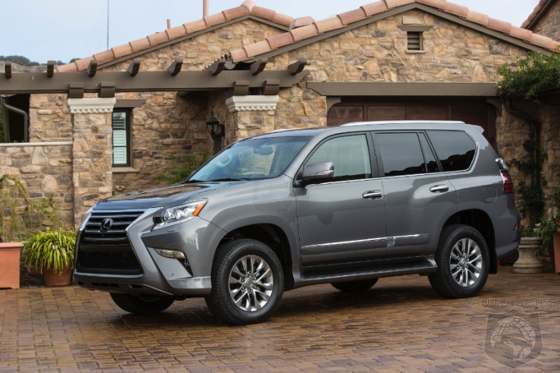 We Like It Cheap! Lexus Buyers Respond To Less Expensive GX Model