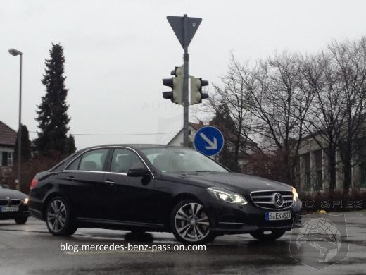 2014 Mercedes-Benz E-Class Spied In Germany Ahead Of Detroit Auto Show Debut