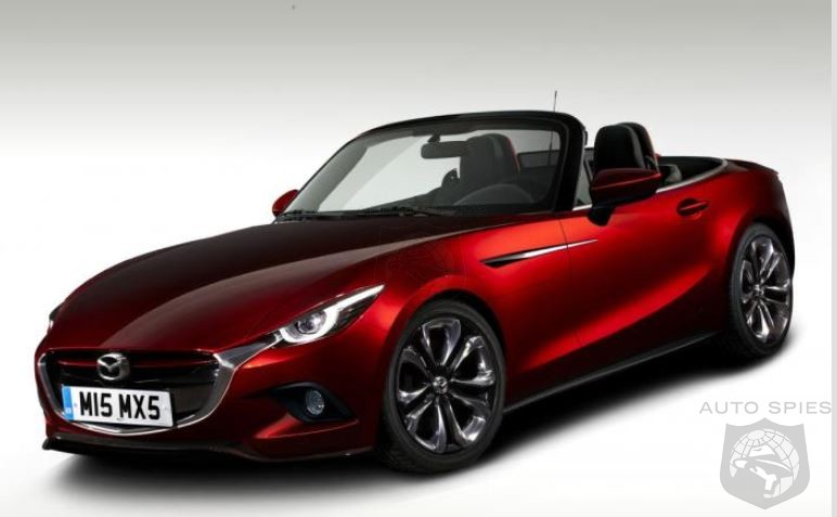 Still A Chick Car Mid Engine 2015 Mazda MX 5 Renderings Surface
