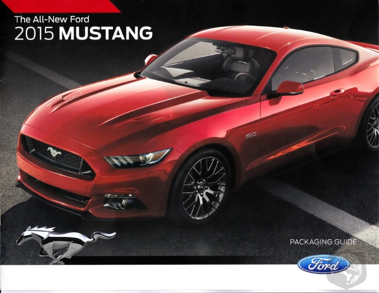 Everything You Wished For? 2015 Mustang Packaging Guide LEAKS Out