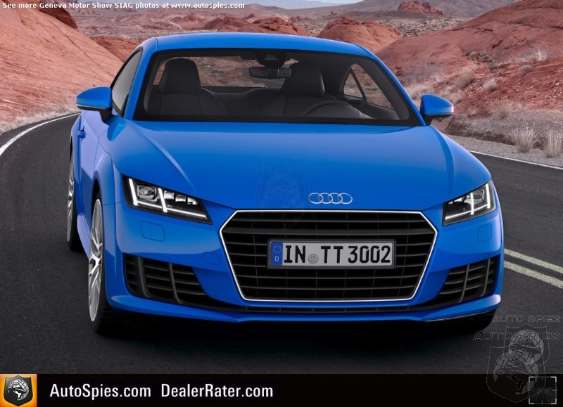GENEVA MOTOR SHOW: Did Audi Have A Misstep  With New TT?