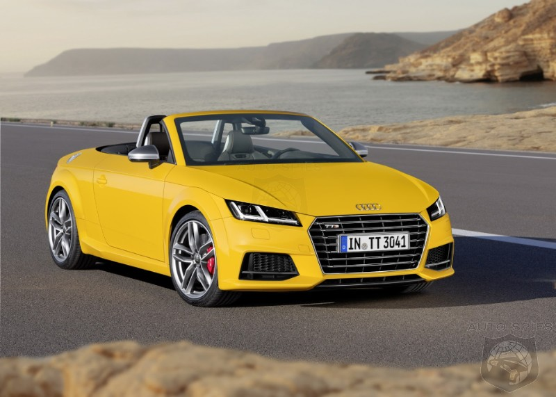 PARIS MOTOR SHOW: Audi Unwraps 2015 TT and TT S Roadster Ahead Of Schedule