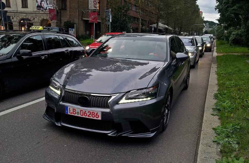 STUD OR DUD? Lexus GS-F Prototype SPIED In Germany