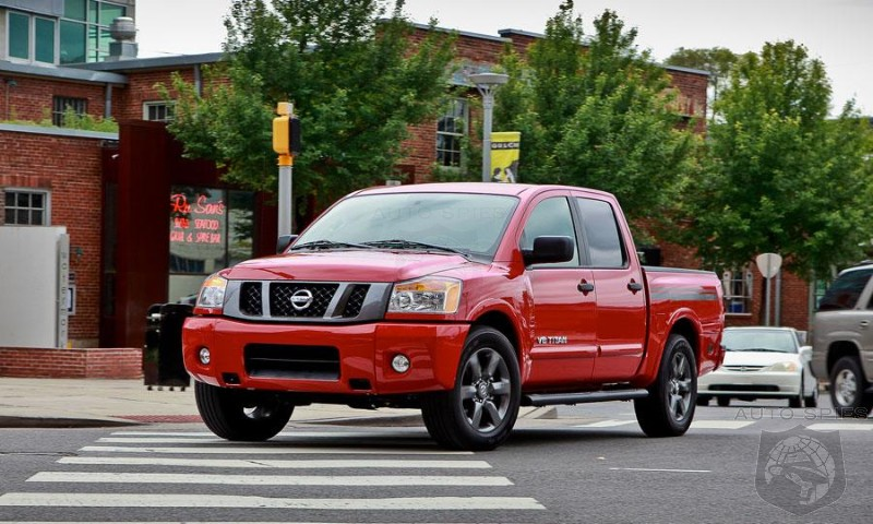 Titan Retains The Crown Of The Worst Selling Pickup In The US - What Does Nissan Need To Do To Reverse This?