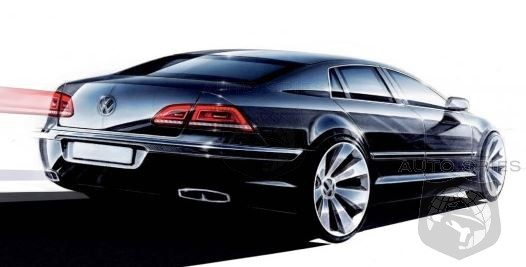 Phaeton No Longer Targeting Upper Crust Mercedes - New Focus Is The Chrysler 300 And Ford Taurus