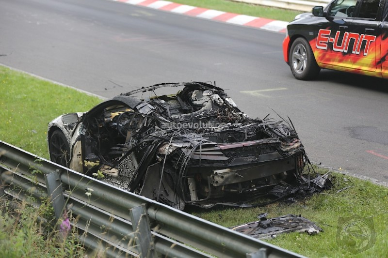Yep It's Ready For Production! 2015 NSX Protoype Burns To A Crisp During Testing