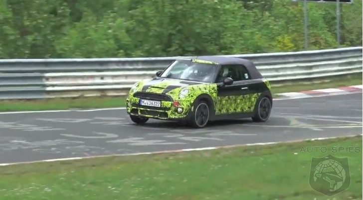 VIDEO: 2015 MINI Cooper S Convertible Spied Circling The Nurburgring